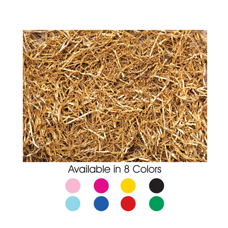 shredded-paper available in 8 colors
